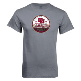 Charcoal T Shirt-2015 National Champions