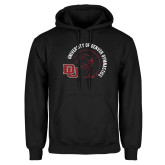 Black Fleece Hoodie-DU Gymnastics