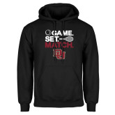 Black Fleece Hoodie-Game Set Match