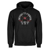 Black Fleece Hoodie-Pioneers Hockey