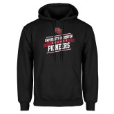 Black Fleece Hoodie-University of Denver Pioneers Hockey