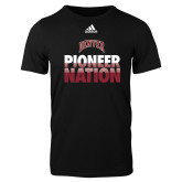 Adidas Black Logo T Shirt-Pioneer Nation