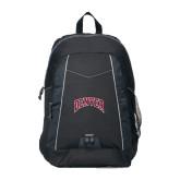 Impulse Black Backpack-Arched Denver