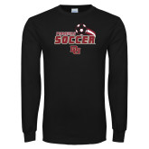 Black Long Sleeve T Shirt-Pioneers Soccer