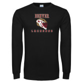 Black Long Sleeve T Shirt-Denver Lacrosse