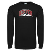 Black Long Sleeve T Shirt-Lacrosse Capital