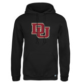 Russell DriPower Black Fleece Hoodie-DU