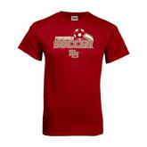 Cardinal T Shirt-Soccer Swoosh