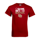 Cardinal T Shirt-Tennis Game Set Match