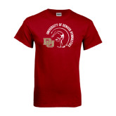 Cardinal T Shirt-Denver Gymnastics Circle Design