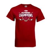 Cardinal T Shirt-2014 NCHC Tournament Champions