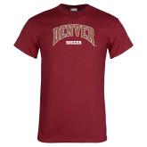 Cardinal T Shirt-Denver Soccer
