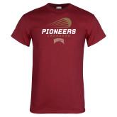 Cardinal T Shirt-Pioneers Lacrosse Denver