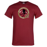 Cardinal T Shirt-DU Skiing