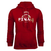 Cardinal Fleece Hood-2016 NCAA Mens Soccer Champions