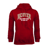 Cardinal Fleece Hood-Hilltoppers