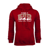Cardinal Fleece Hood-Lacrosse Capital of the West