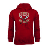 Cardinal Fleece Hood-Lacrosse 50th Anniversary