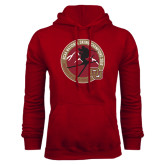 Cardinal Fleece Hoodie-2016 National Skiing Champs