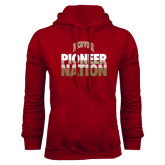 Cardinal Fleece Hood-Pioneer Nation