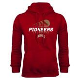 Cardinal Fleece Hood-Pioneers Lacrosse Modern
