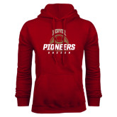 Cardinal Fleece Hood-Pioneers Soccer Half Ball