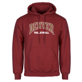 Cardinal Fleece Hoodie-Denver Volleyball