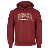 Cardinal Fleece Hoodie-Denver Gymnastics