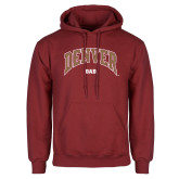 Cardinal Fleece Hoodie-Denver Dad