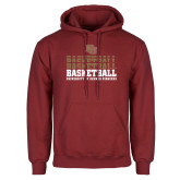 Cardinal Fleece Hoodie-DU Basketball