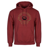 Cardinal Fleece Hoodie-Pioneers Hockey