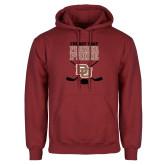 Cardinal Fleece Hoodie-Pioneer Pride DU Hockey