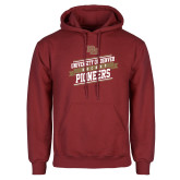 Cardinal Fleece Hoodie-University of Denver Pioneers Hockey