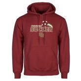 Cardinal Fleece Hoodie-Pioneers Soccer