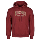 Cardinal Fleece Hoodie-JR Pioneers Hockey