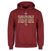 Cardinal Fleece Hoodie-2018 NCHC Ice Hockey Champions