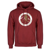 Cardinal Fleece Hoodie-2018 NCAA Skiing National Champions