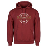 Cardinal Fleece Hoodie-2018 Big East Mens Lacrosse Championship