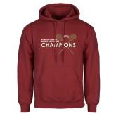 Cardinal Fleece Hoodie-2018 Mens Lacrosse Championship