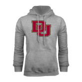 Grey Fleece Hood-DU