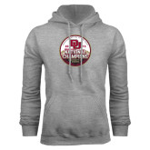 Grey Fleece Hood-2015 National Champions