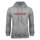 Grey Fleece Hood-Pioneers Two Tone