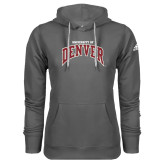 Adidas Climawarm Charcoal Team Issue Hoodie-University of Denver