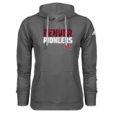 Adidas Climawarm Charcoal Team Issue Hoodie-Denver Pioneers
