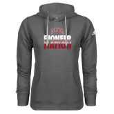 Adidas Climawarm Charcoal Team Issue Hoodie-Pioneer Nation