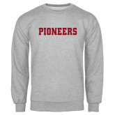 Grey Fleece Crew-Pioneers