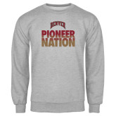 Grey Fleece Crew-Pioneer Nation