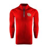 Under Armour Cardinal Tech 1/4 Zip Performance Shirt-DU