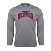 Syntrel Performance Steel Longsleeve Shirt-Arched University of Denver