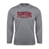 Syntrel Performance Steel Longsleeve Shirt-JR Pioneers Hockey